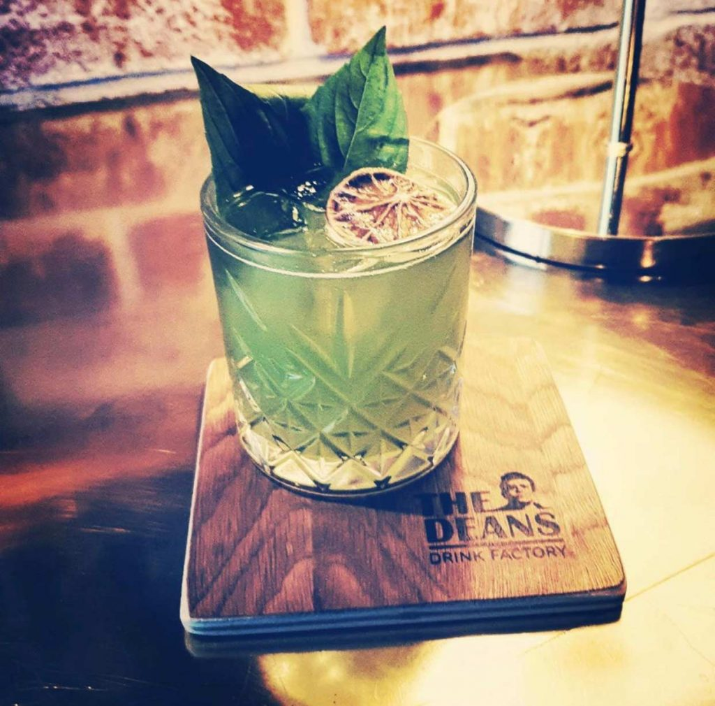 Gin Basil Cocktail Deans Braunschweig